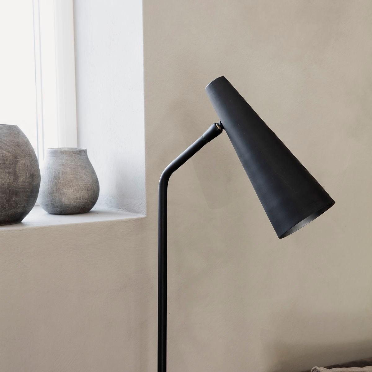 Stojací lampa PRECISE černá matná_2