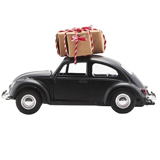 Vánoční dekorace auto Xmas CAR černé_0