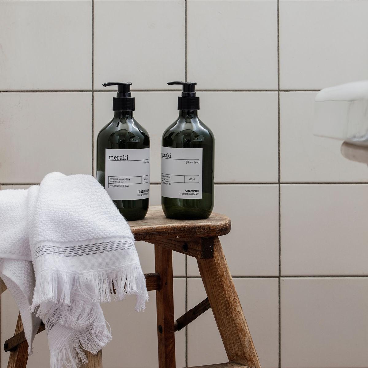 Šampon na vlasy pro poškozené vlasy LINEN DEW 490 ml_0