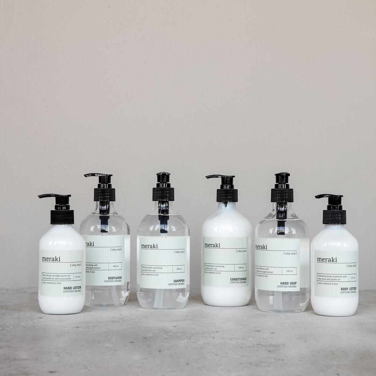 Šampon na vlasy pro snadné rozčesávání SILKY MIST 490 ml_0