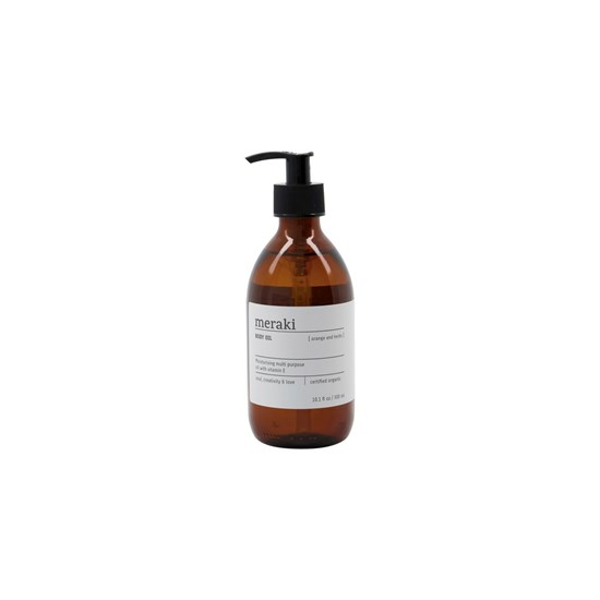 Multi olej na pokožku, odlíčení a vlasy ORANGE & HERBS 300 ml_1