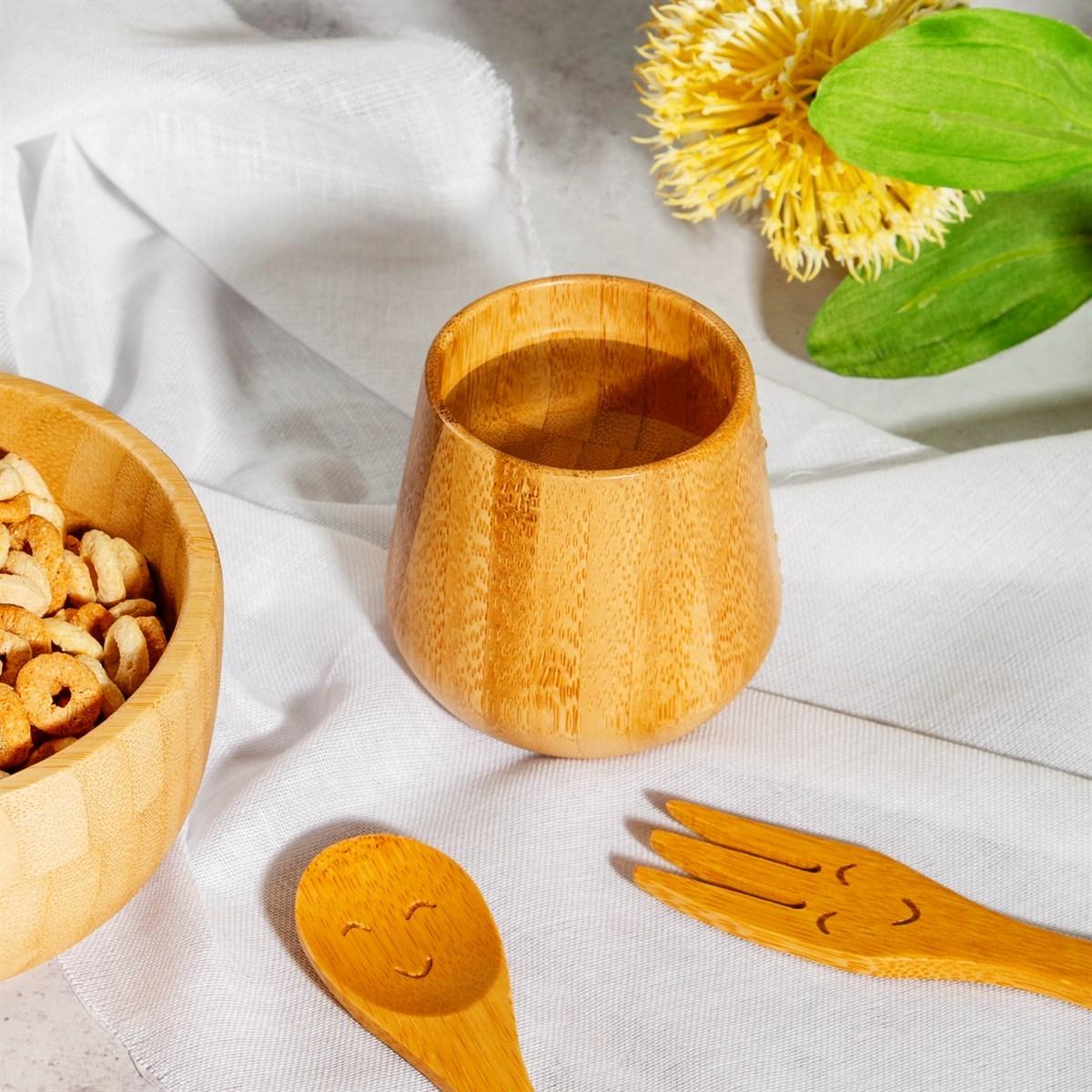 Bambusový pohárek Enjoy 7x7 cm_0