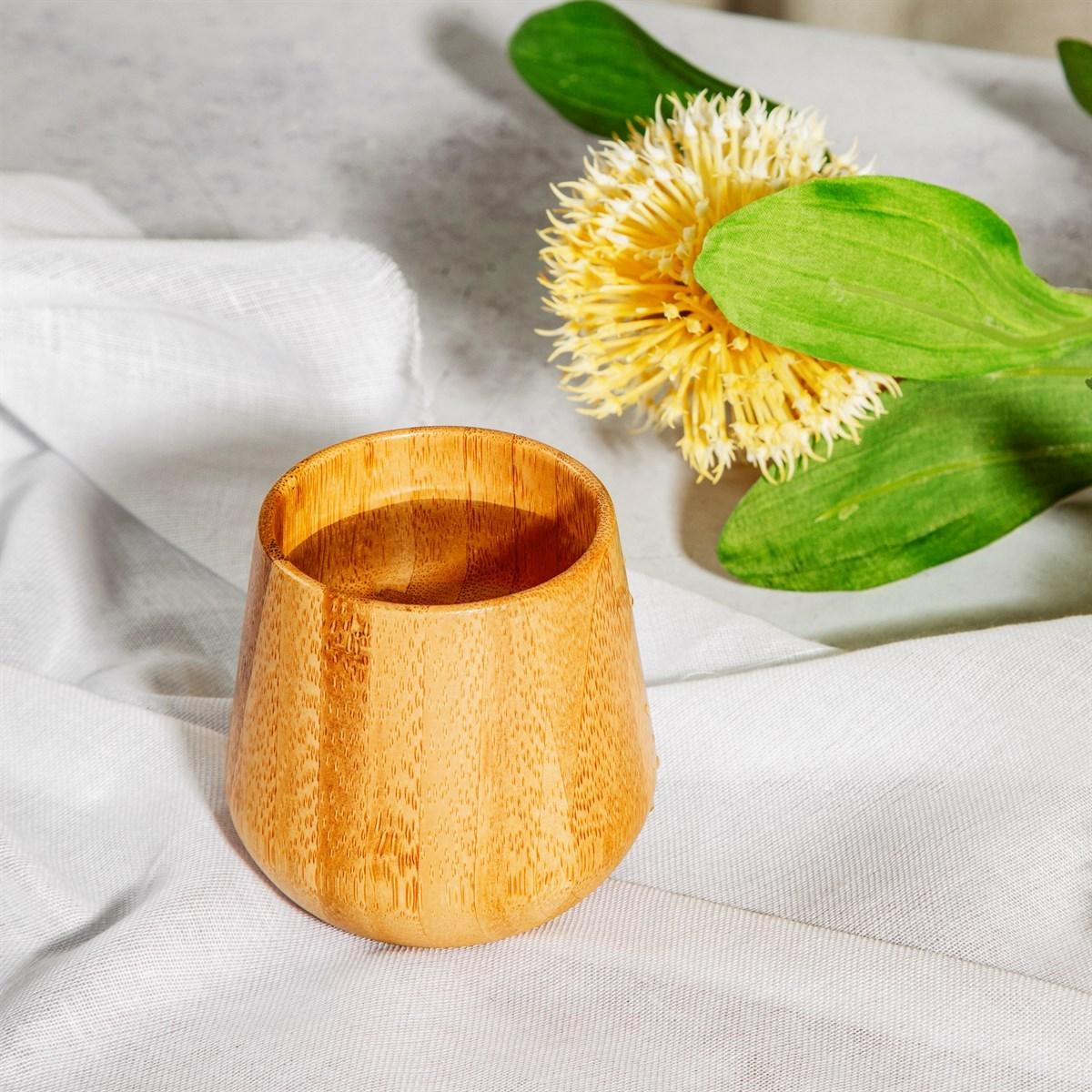 Bambusový pohárek Enjoy 7x7 cm_2