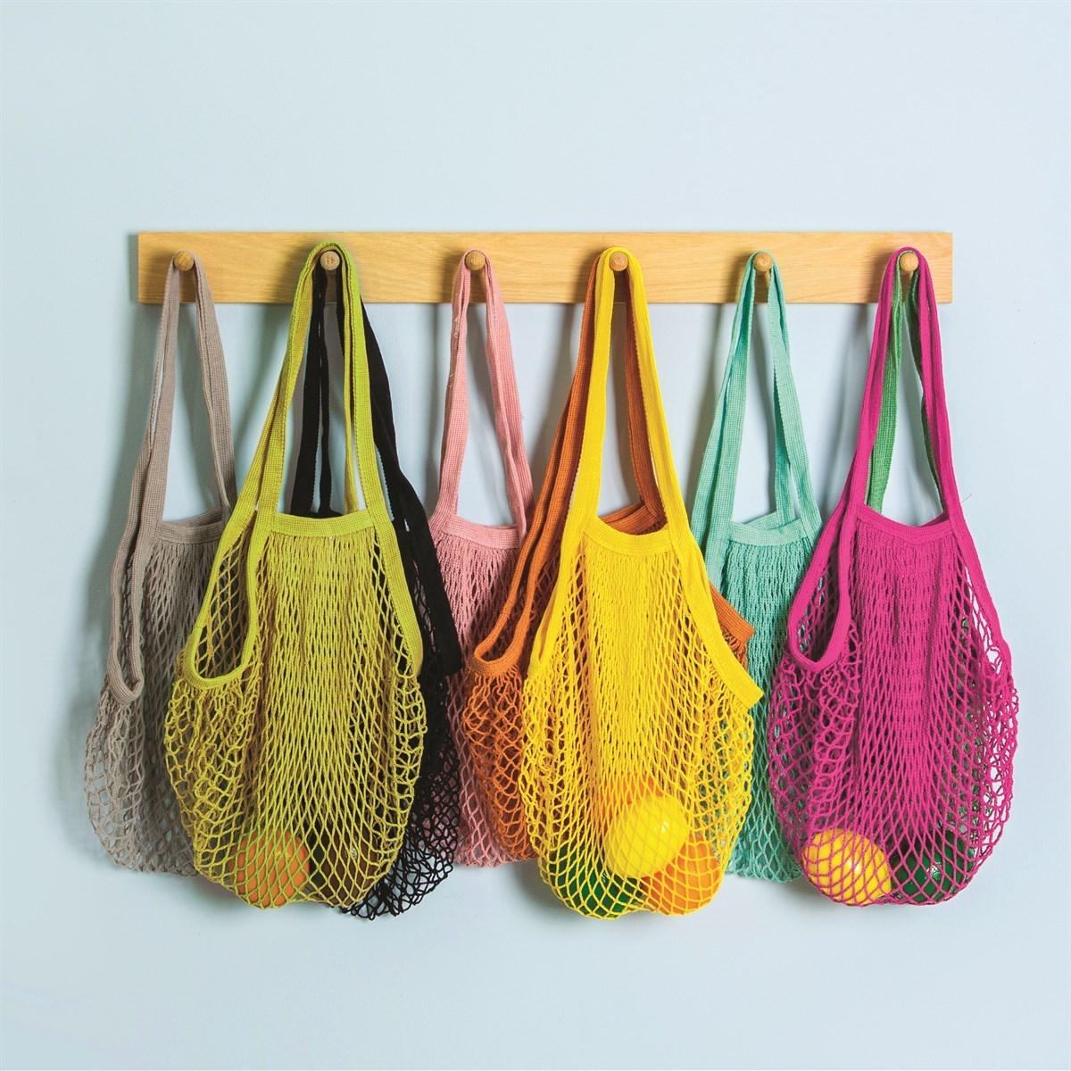 Nákupní taška / síťovka Yellow String_0
