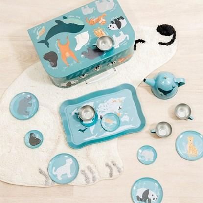 Dětský čajový set Endangered Animals_0