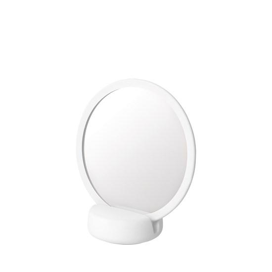 Kosmetické zrcátko SONO bílé_0
