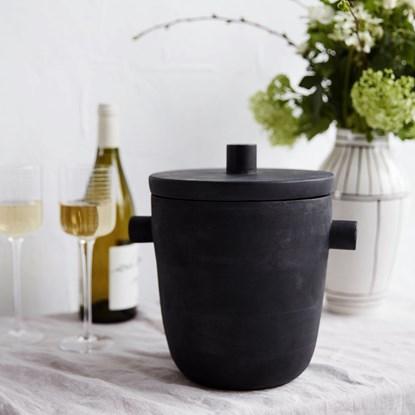 Chladič na víno/ kbelík na led ASK černý_2