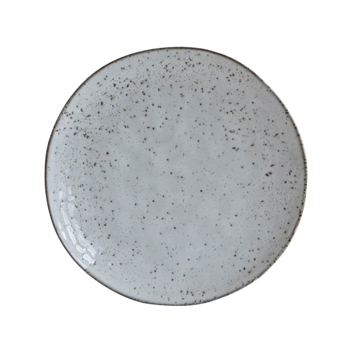 Dezertní talíř RUSTIC 20,5 cm šedo modrý_3