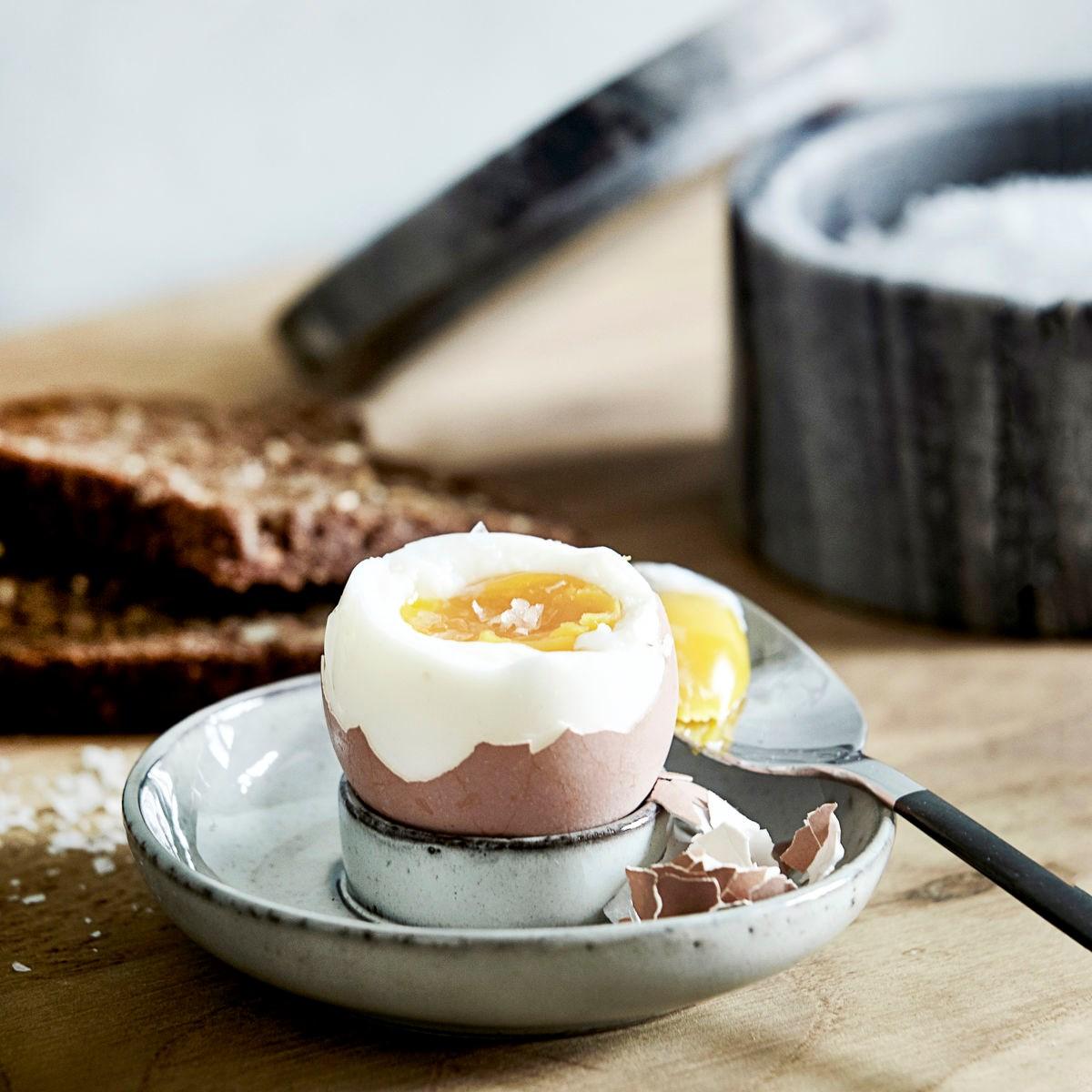 Miska/ stojan na vejce RUSTIC šedo modrá_1