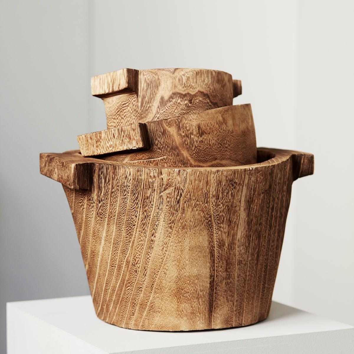 Dřevěná mísa/ koš CRAFT 40 cm_1