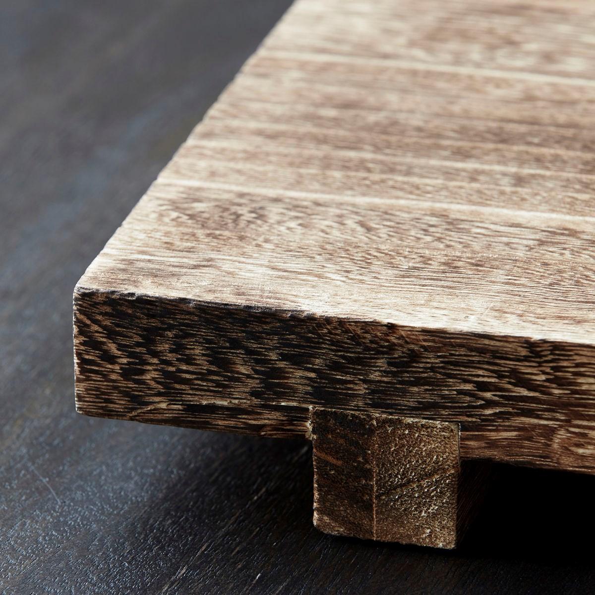Dřevěný tác/ podnos CRAFT 46x28 cm_1