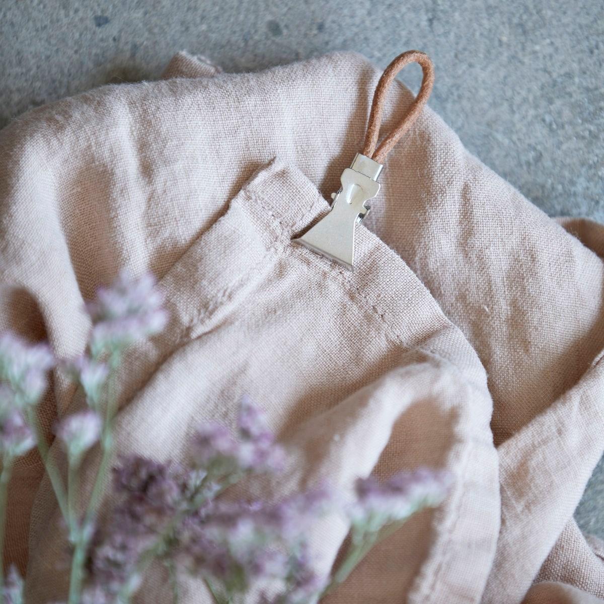 Kožené spony/ poutka na ručníky SET/10 ks_0