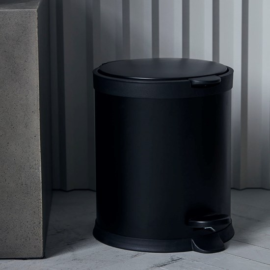 Odpadkový koš EDA 5l černý_3