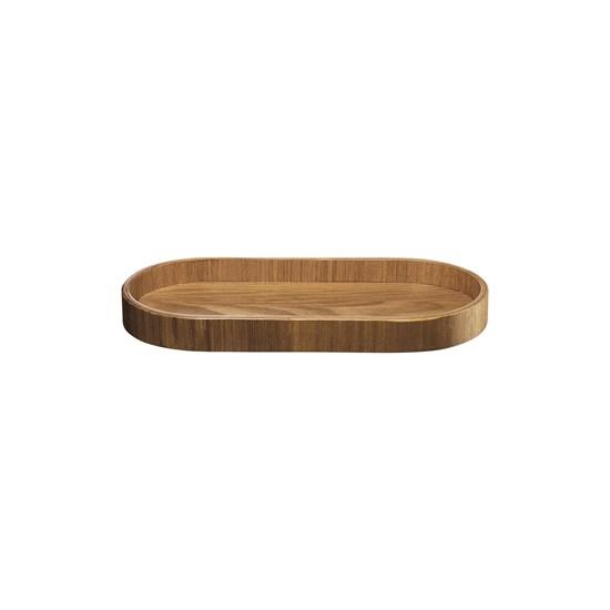 Dřevěný tác SONOKO oválný 23x11 cm_3