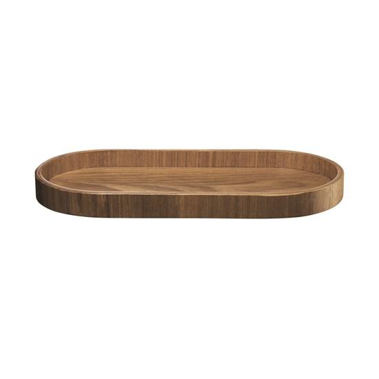 Dřevěný tác SONOKO oválný 35,5x16,5 cm_0