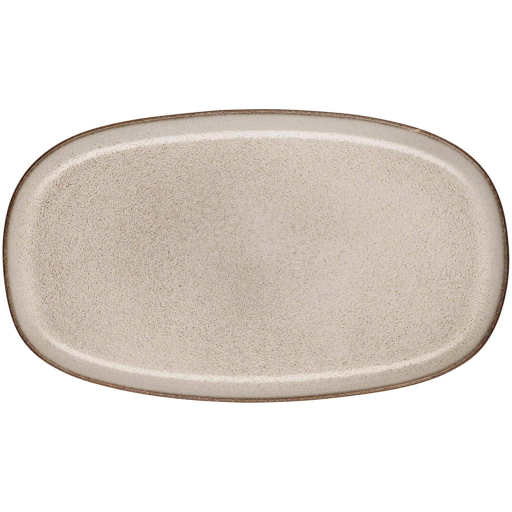 Talíř oválný SAISON 31 cm pískový_0