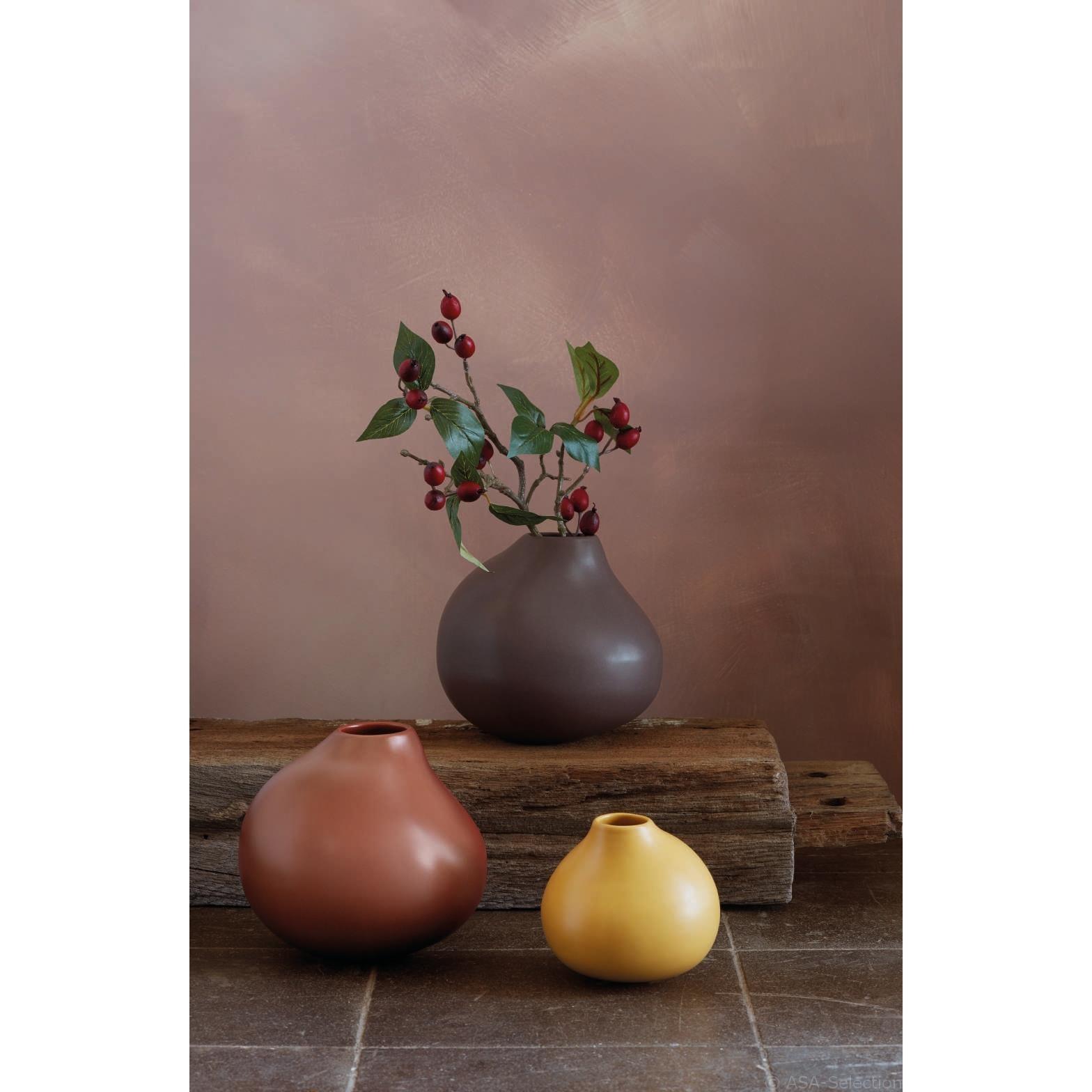 Váza CALABASH 12 cm curcuma_0