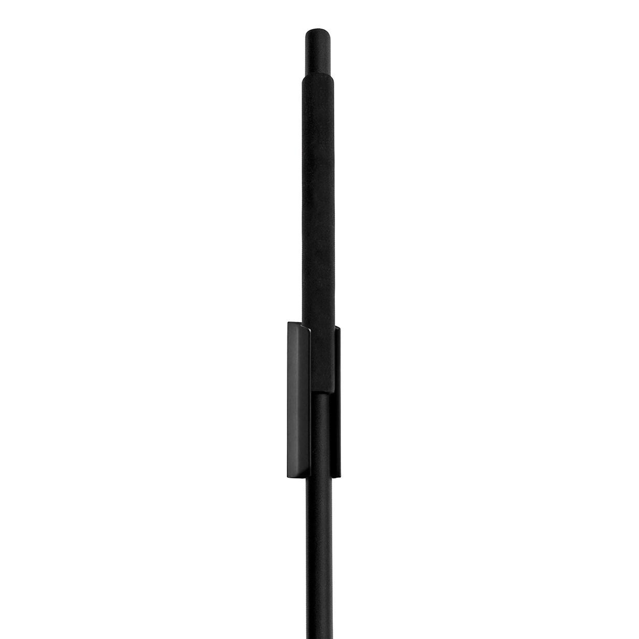 Stěrka s nástěnným držákem MODO černá_0