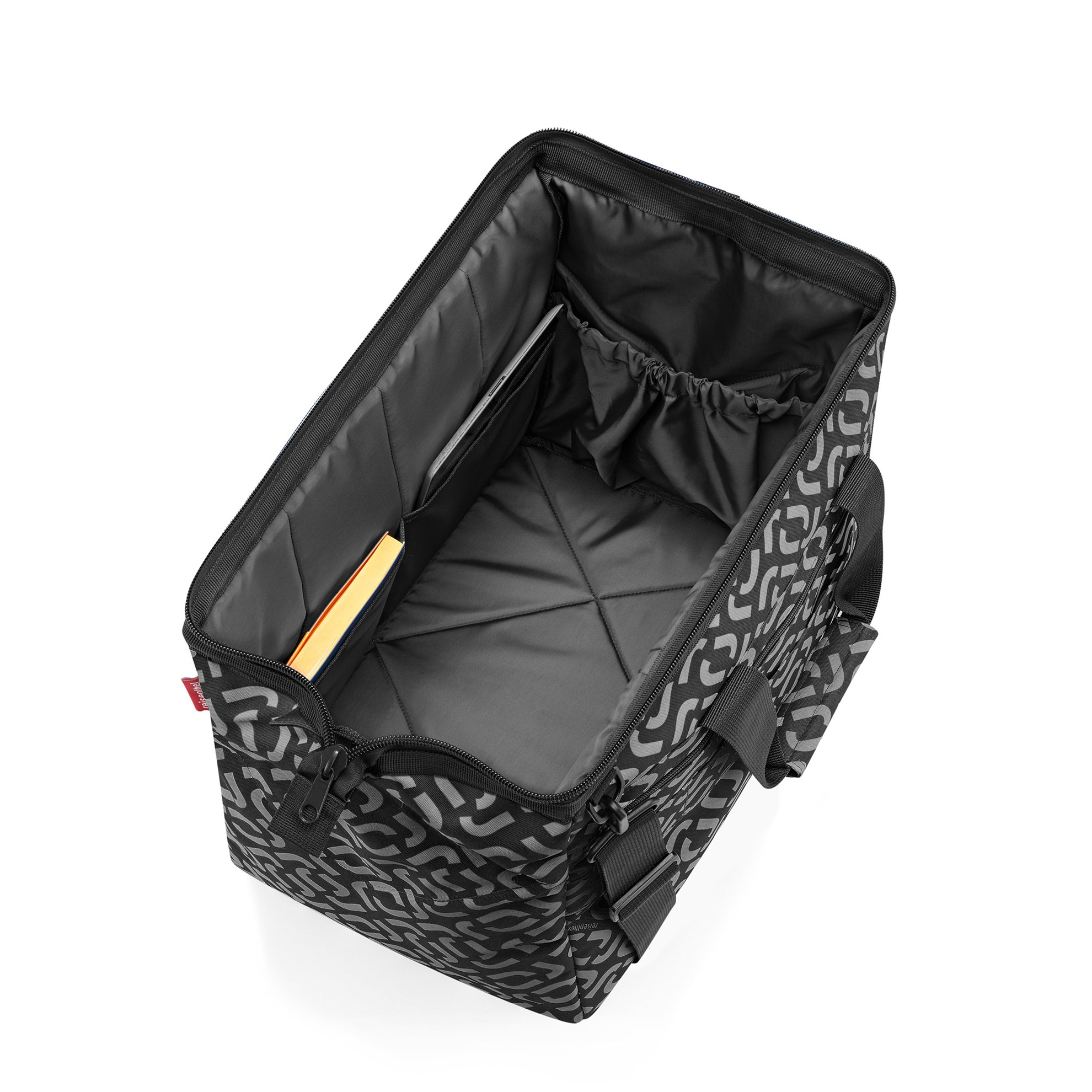Cestovní taška Allrounder L pocket signature black_0