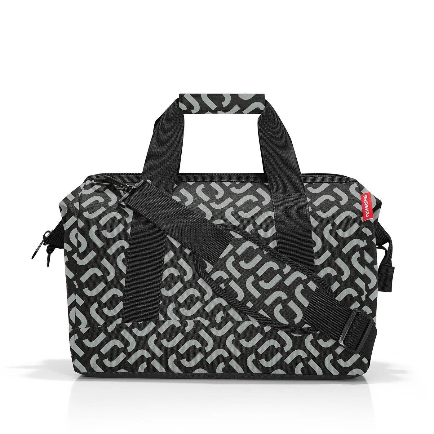 Cestovní taška Allrounder M signature black_1
