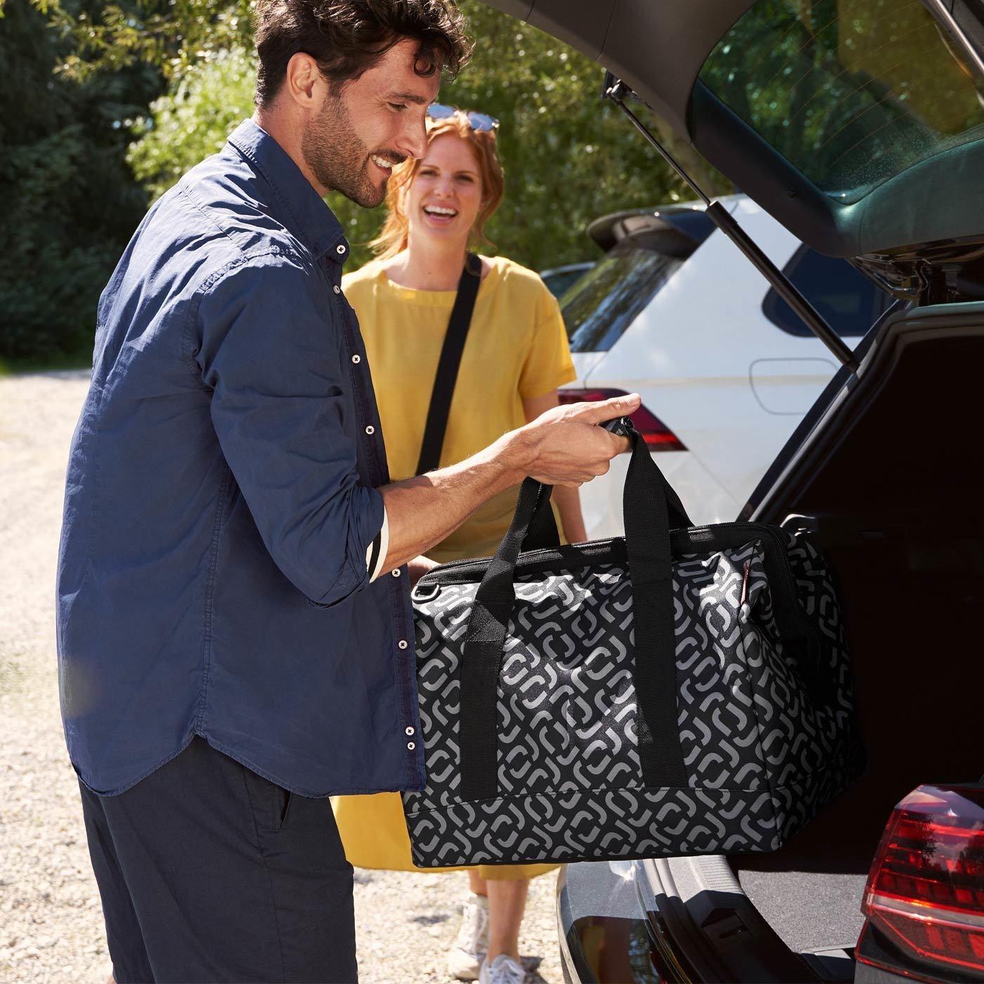 Cestovní taška Allrounder L signature black_0
