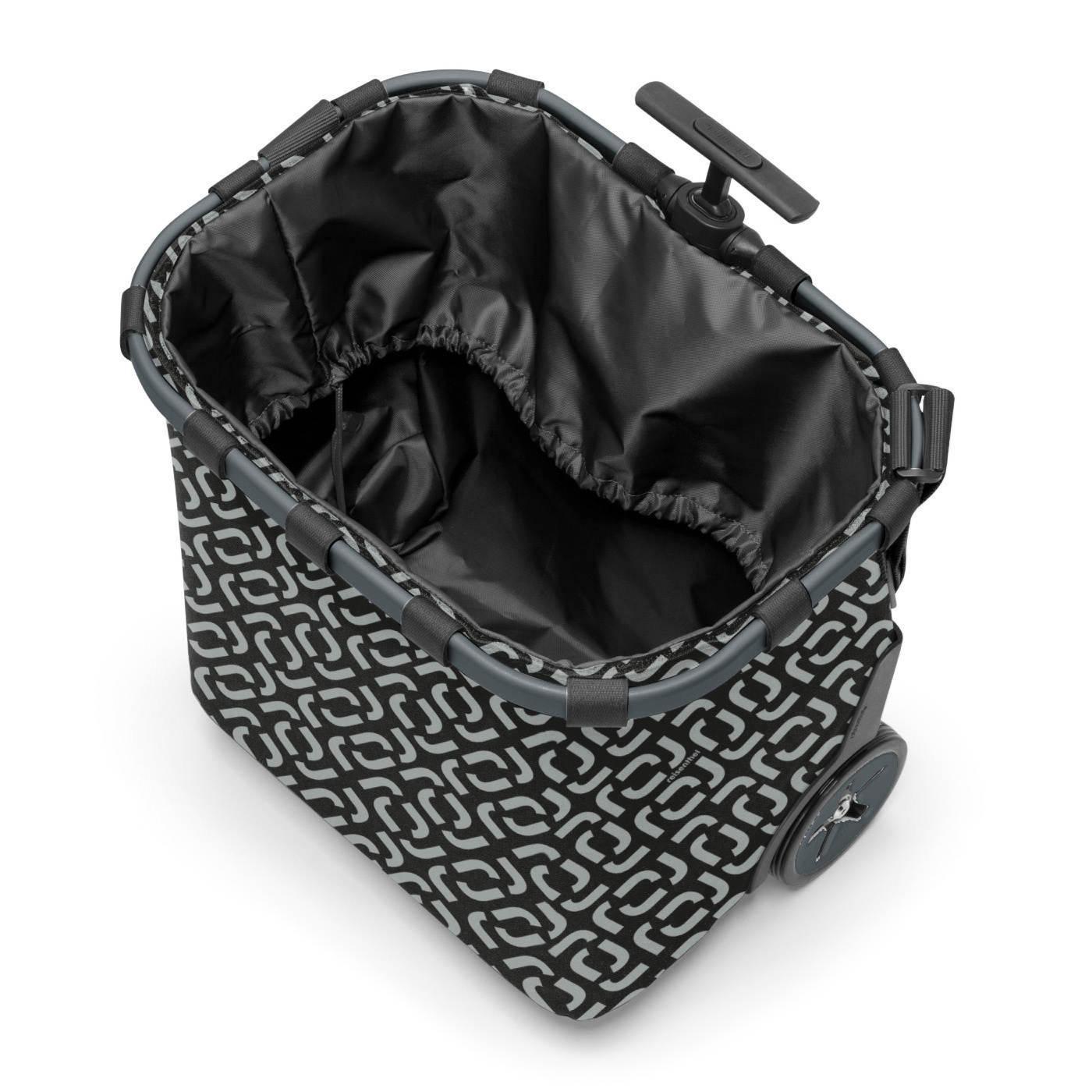Taška na kolečkách Carrycruiser frame signature black_1