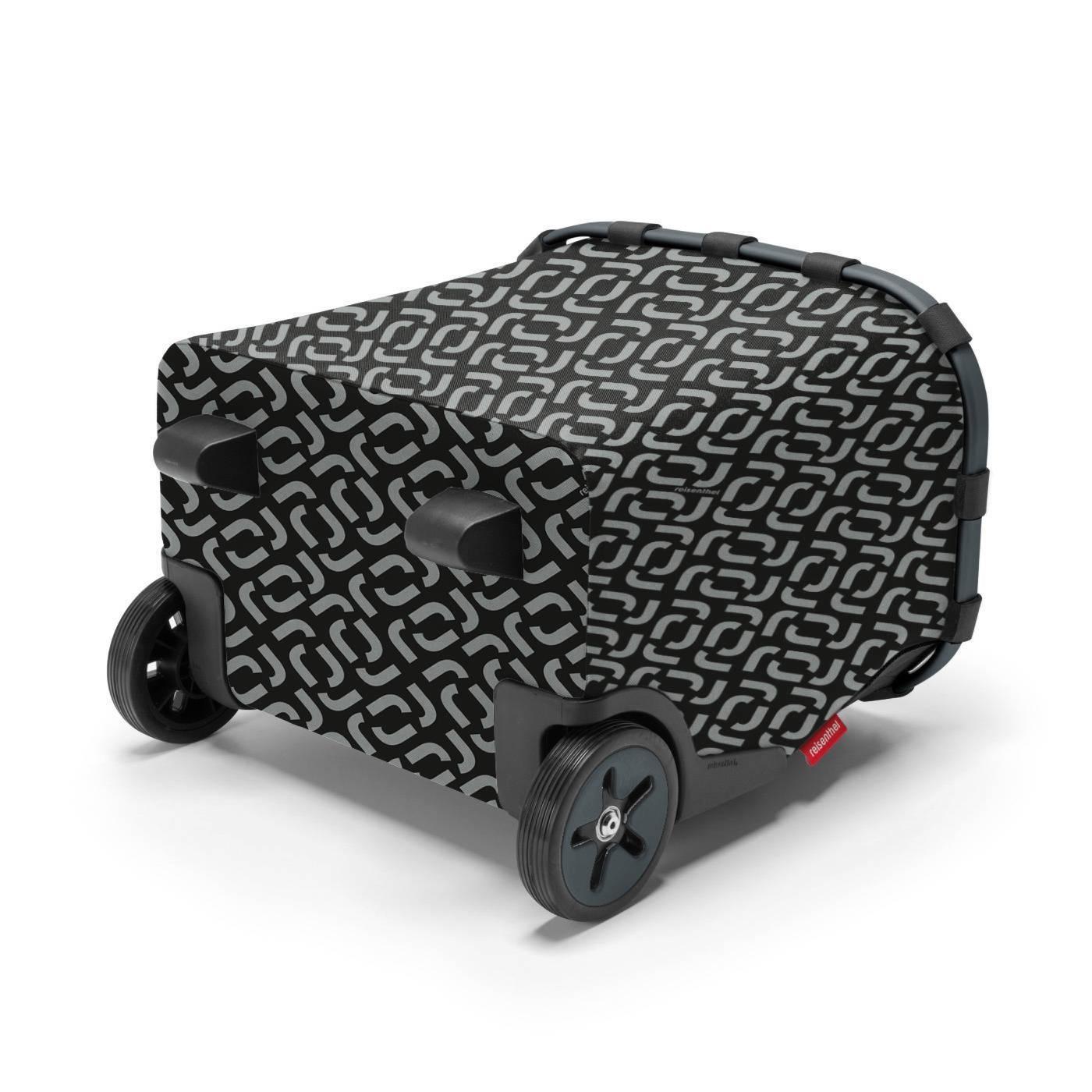 Taška na kolečkách Carrycruiser frame signature black_2