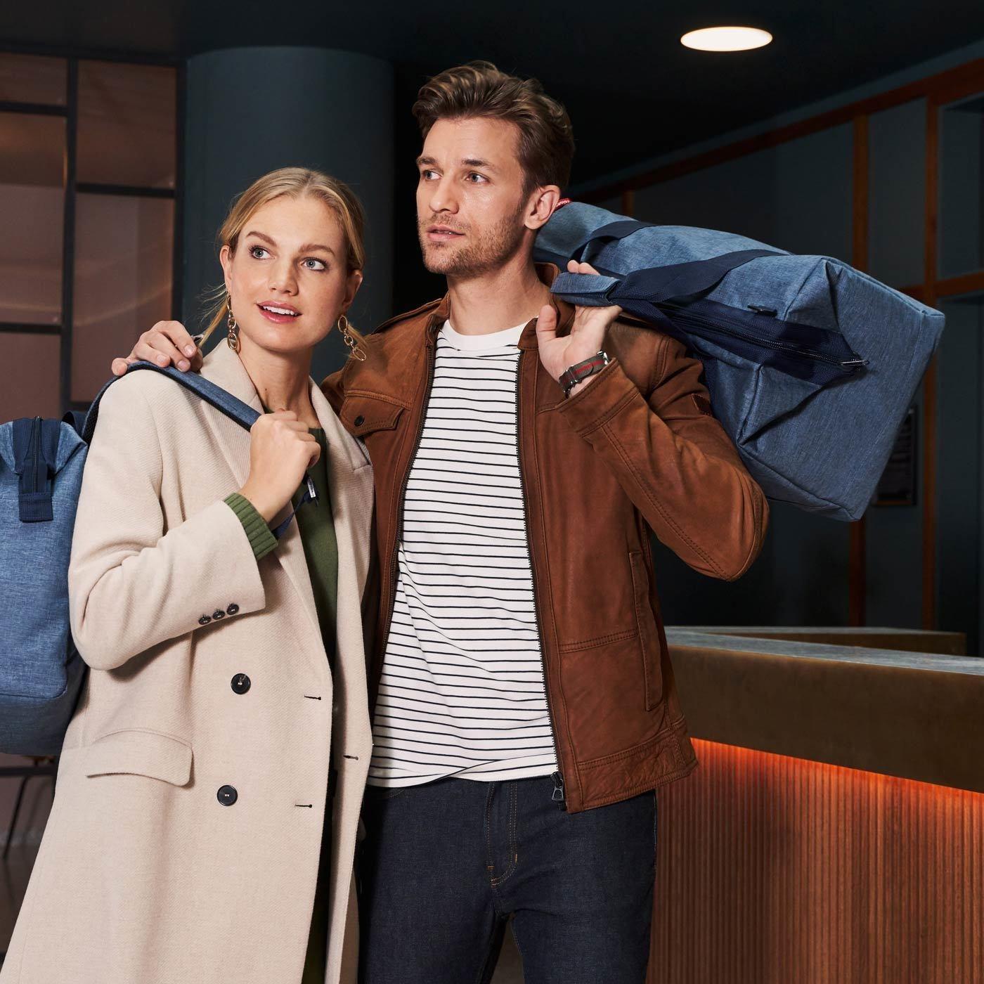 Cestovní taška Allrounder L twist blue_0
