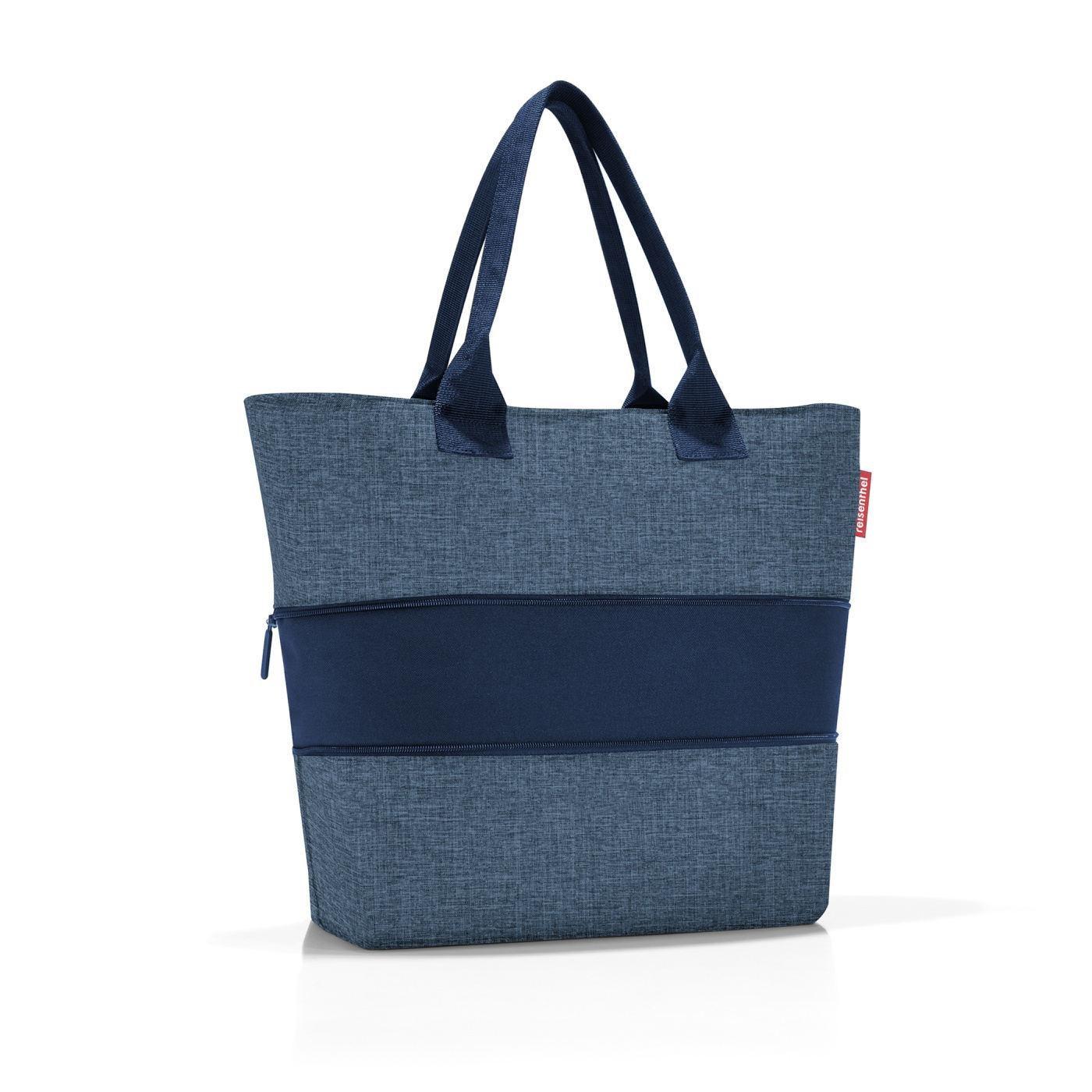 Chytrá taška přes rameno Shopper e1 twist blue_1
