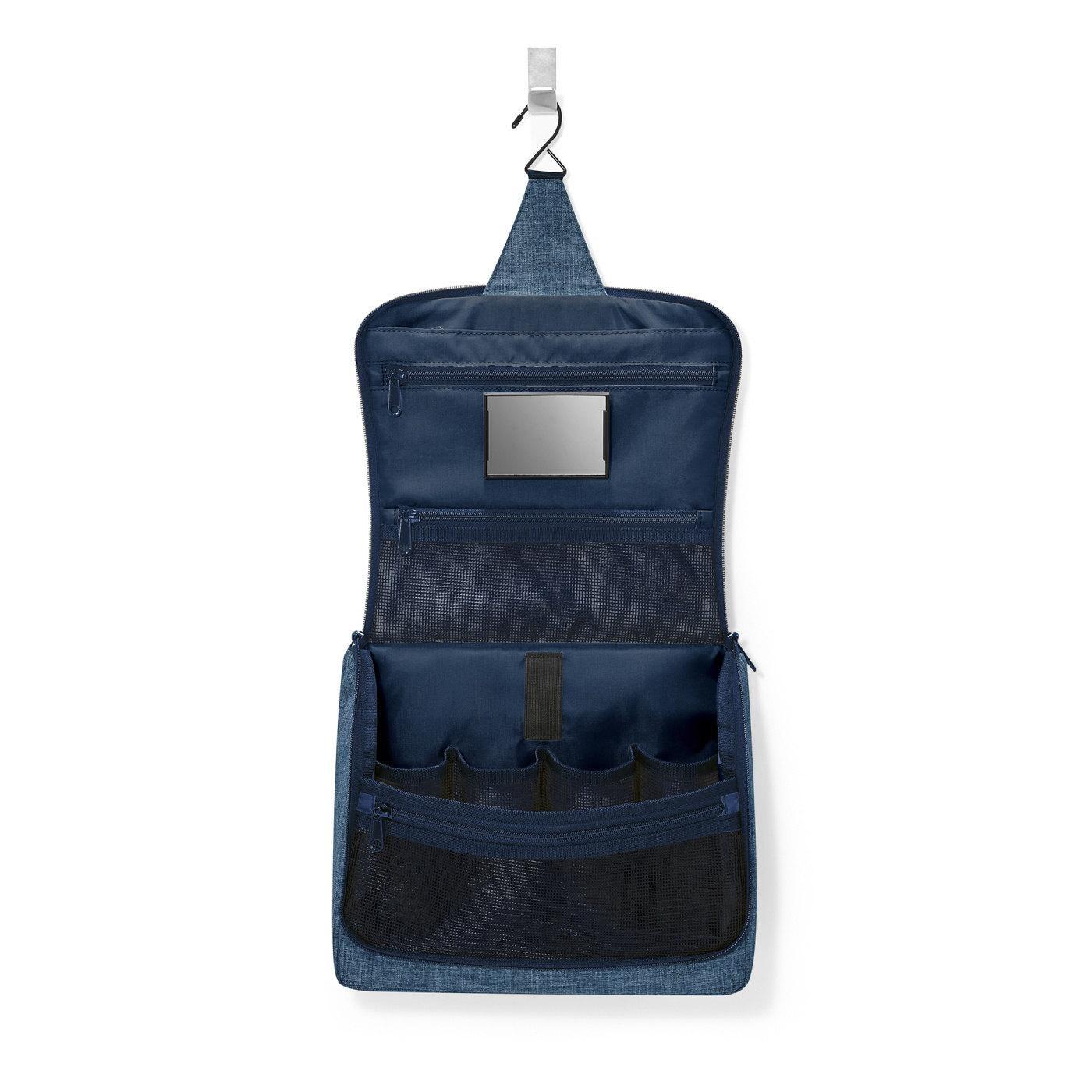 Kosmetická taška Toiletbag XL twist blue_0