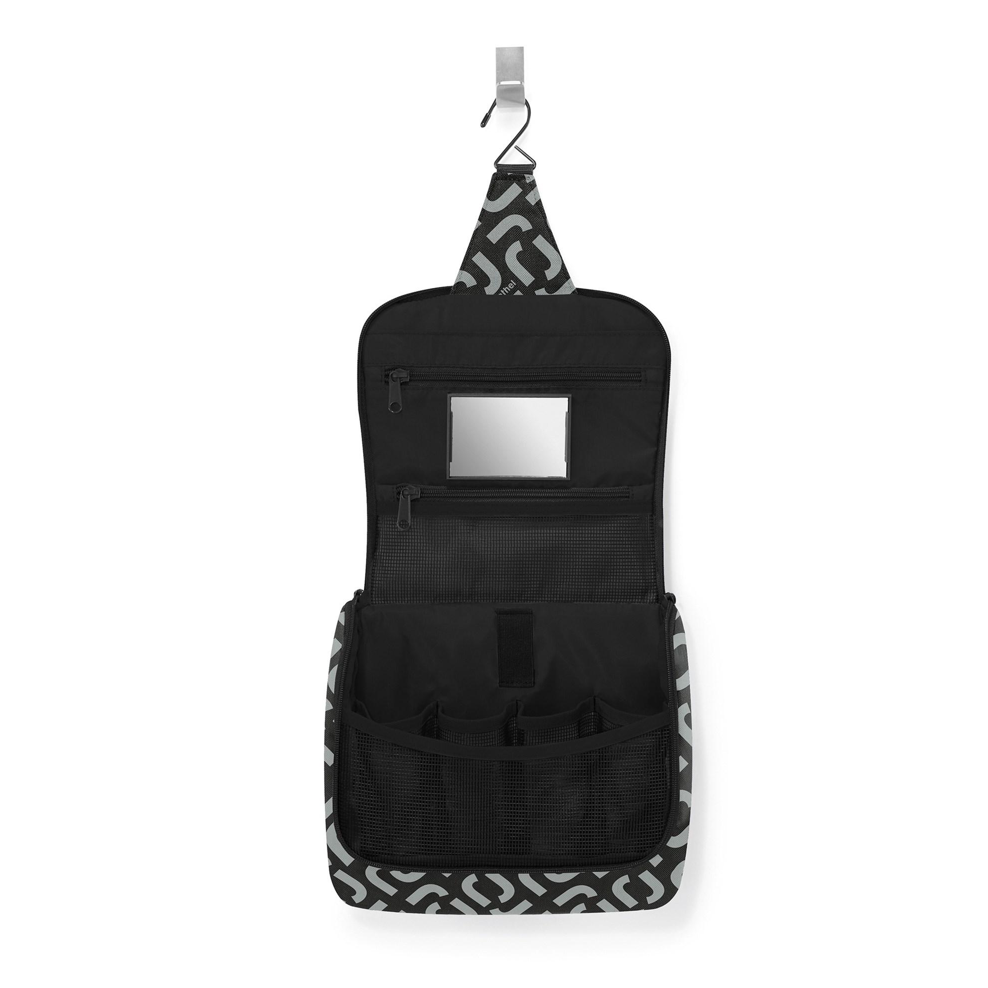 Kosmetická taška Toiletbag signature black_0