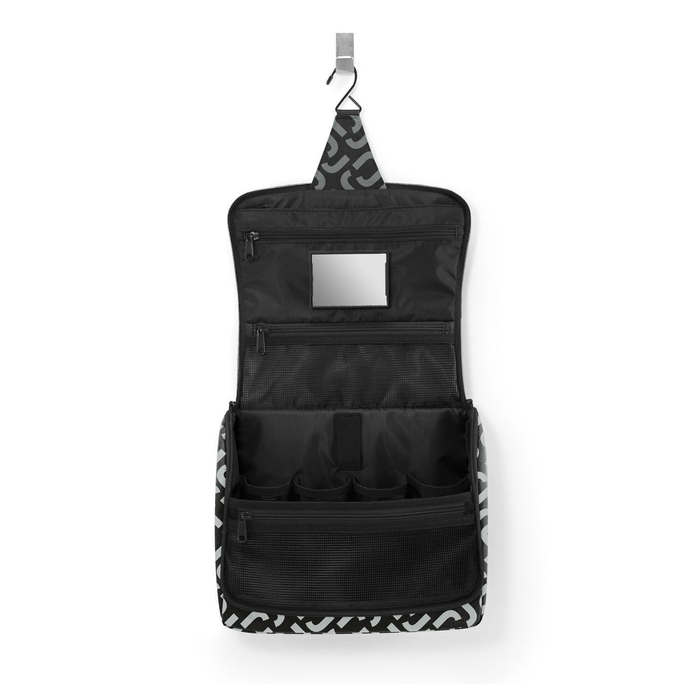 Kosmetická taška Toiletbag XL signature black_0
