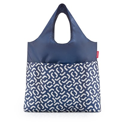 Skládací taška Mini Maxi Shopper plus signature navy_0