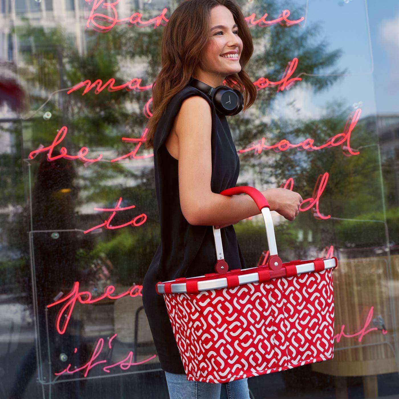 Nákupní košík Carrybag signature red_0