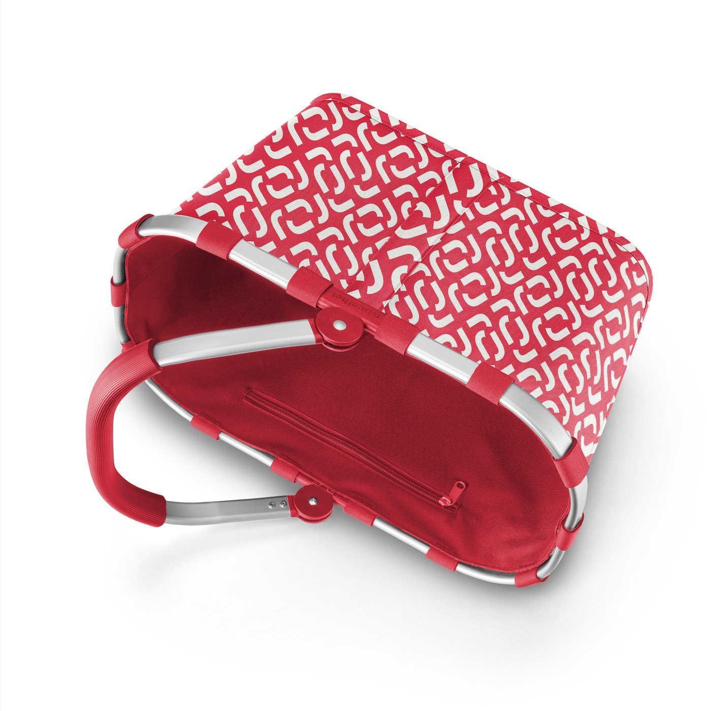 Nákupní košík Carrybag signature red_1