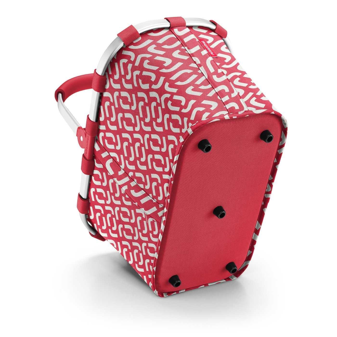 Nákupní košík Carrybag signature red_2