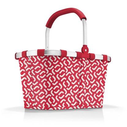Nákupní košík Carrybag signature red_3