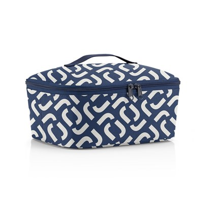 Termotaška Coolerbag M pocket signature navy_2