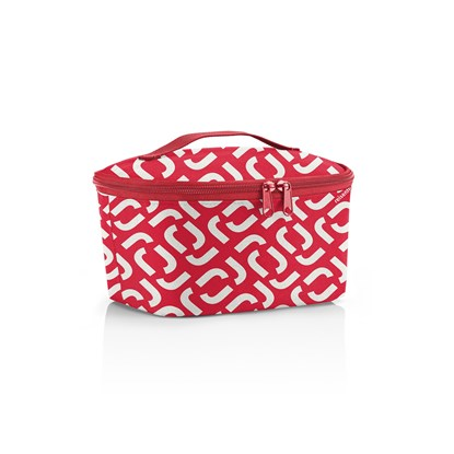 Termotaška Coolerbag S pocket signature red_2