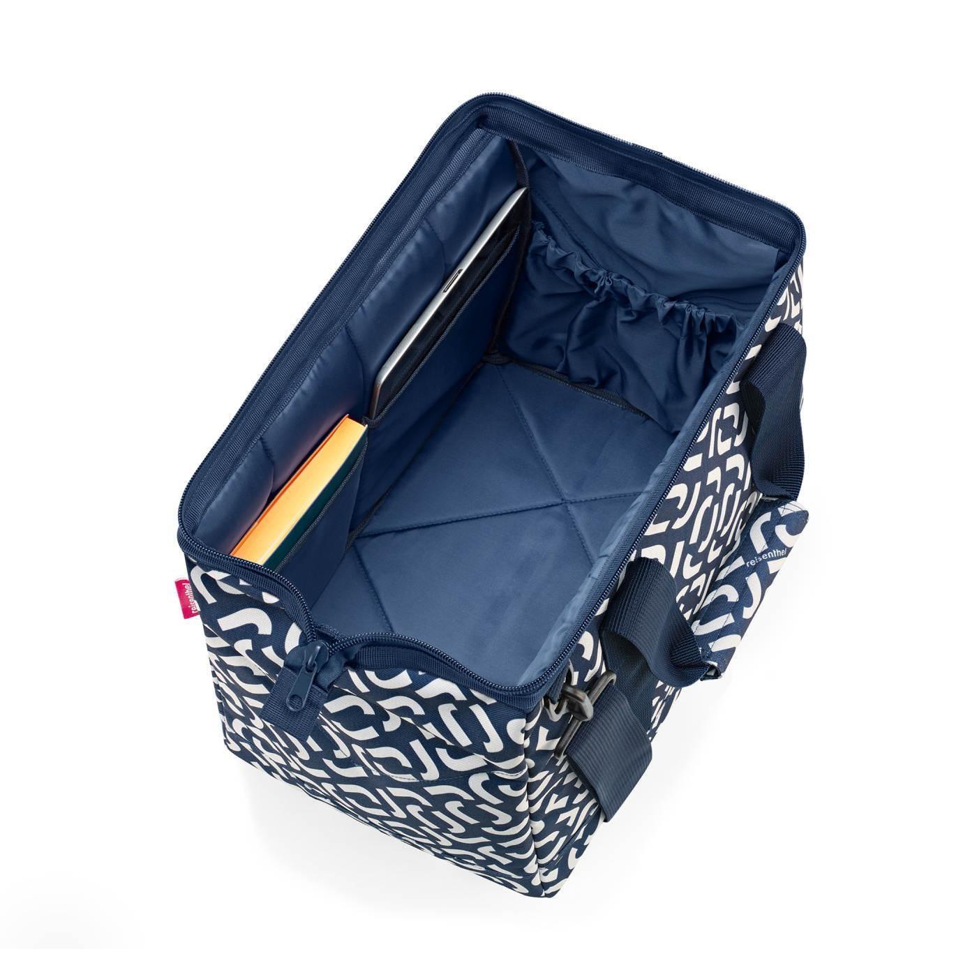 Cestovní taška Allrounder M signature navy_0