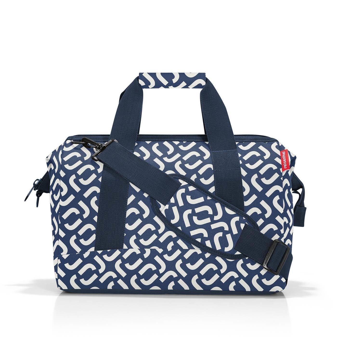 Cestovní taška Allrounder M signature navy_1