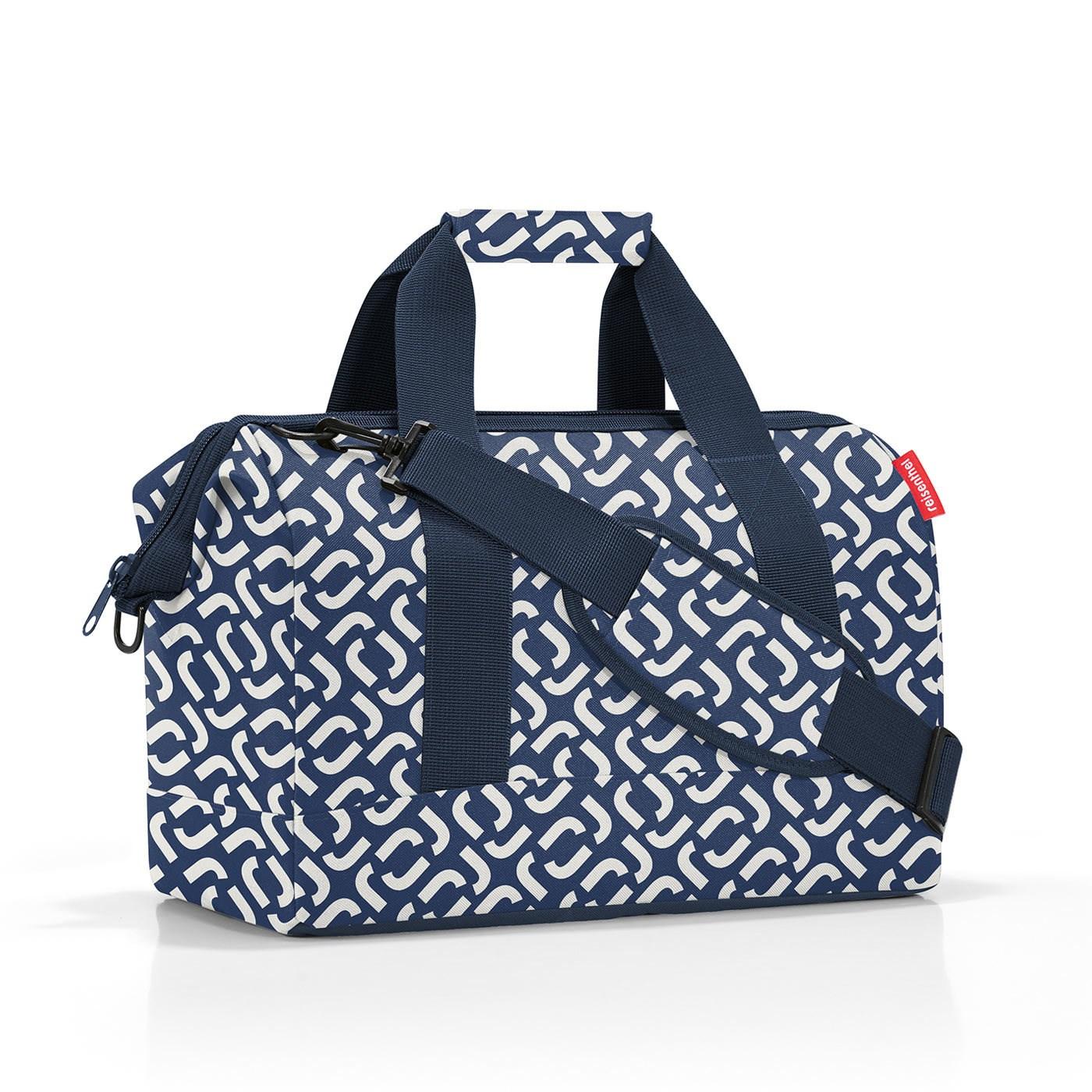 Cestovní taška Allrounder M signature navy_2