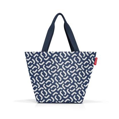 Nákupní taška Shopper M signature navy_1