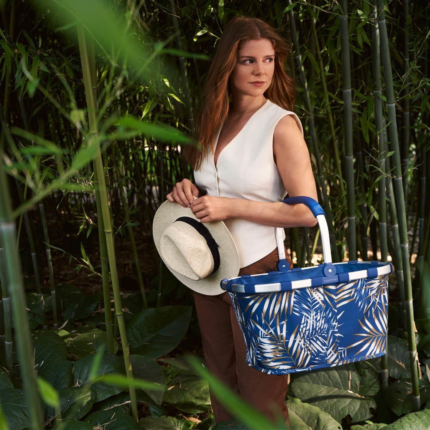 Nákupní košík Carrybag jungle space blue_0