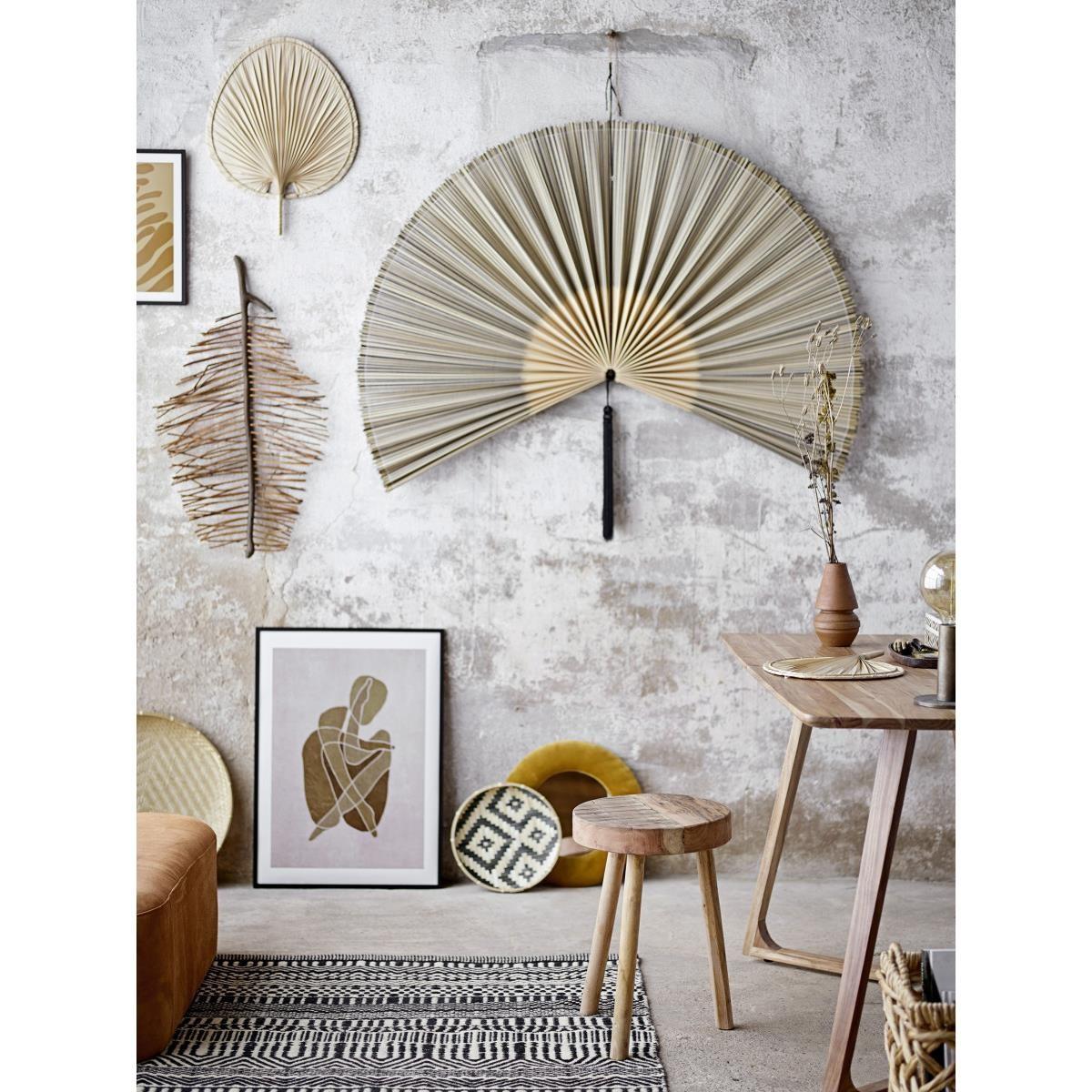 Dekorace na zeď - palmový list, SET2ks_8