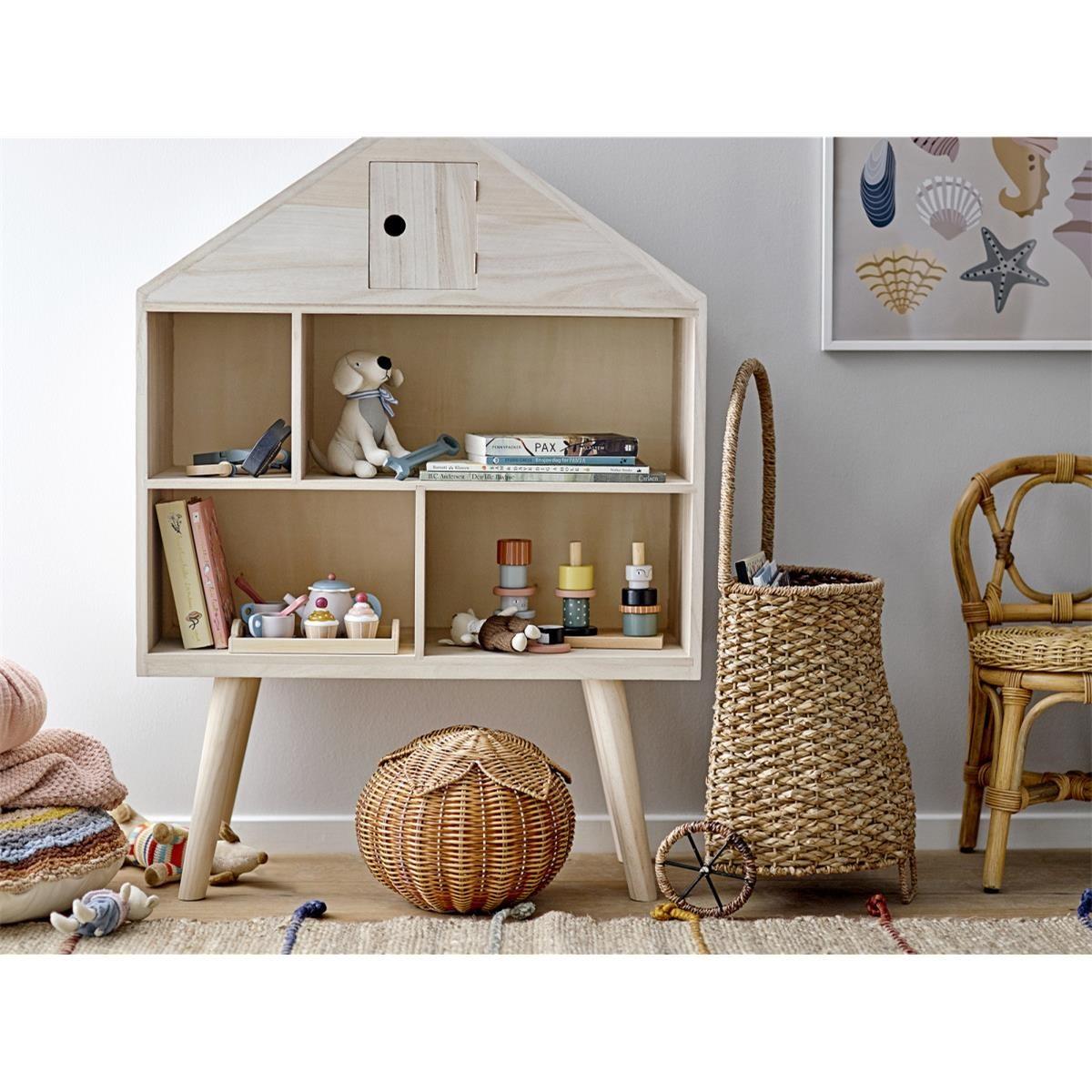 Dřevěný domeček pro panenky Bernadette V.105 cm_6