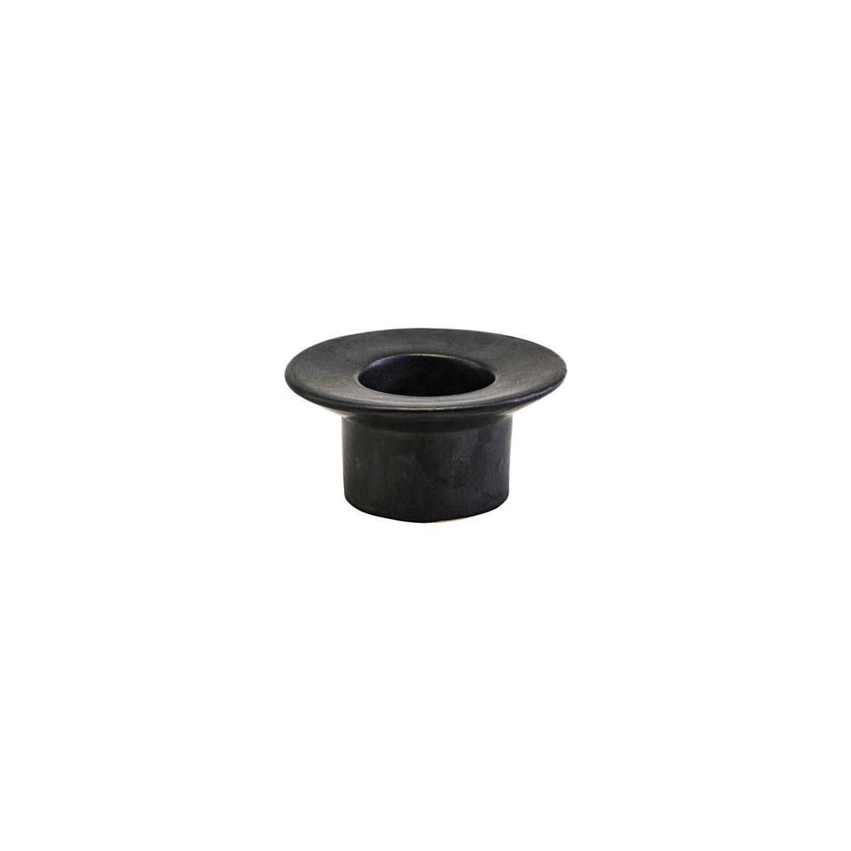 Svícen MIRO 9,5 cm černá matná_2