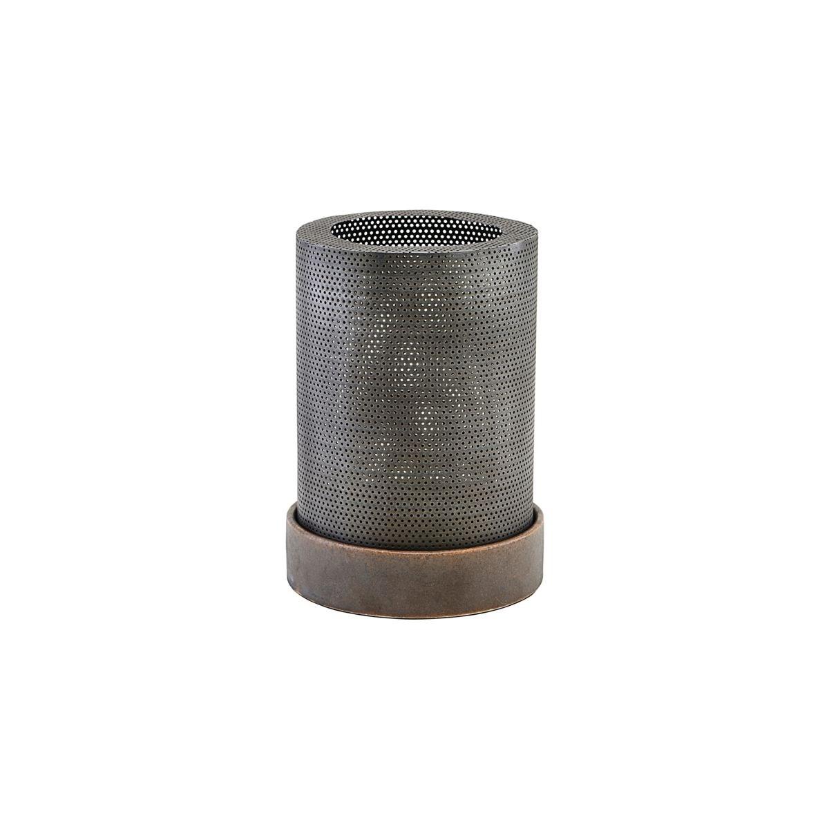 Lucerna / svícen BASH starožitný zinek_1