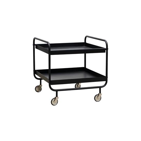 Kovový vozík ROLL černý_0