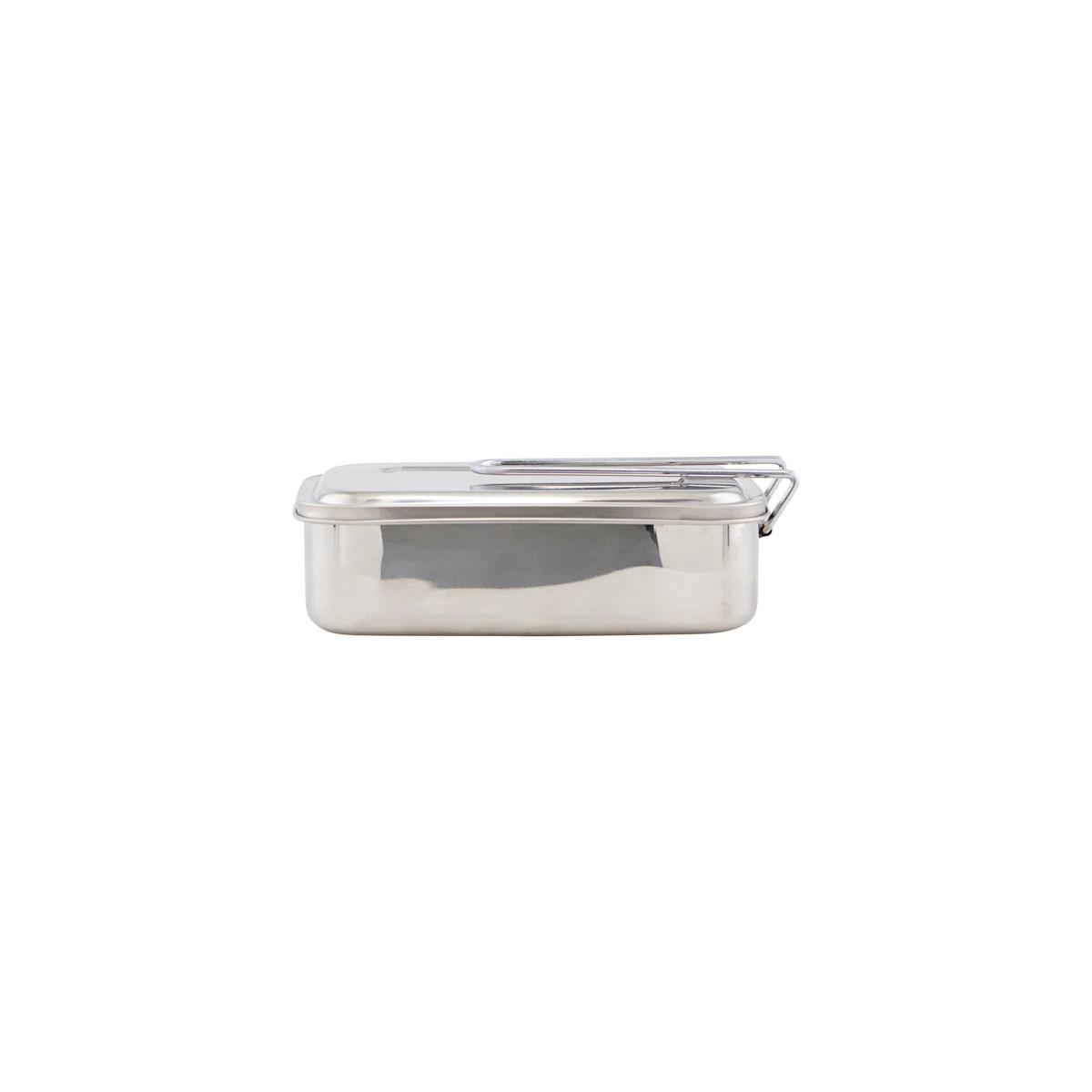 Svačinový/ obědový box BOXIT stříbrný_1